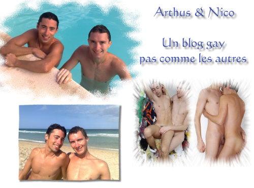 Arthus et Nico, un blog gay pas comme les autres